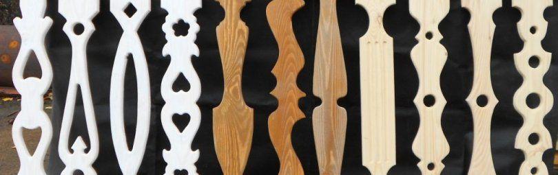 Деревянные балясины: дизайн и функциональность