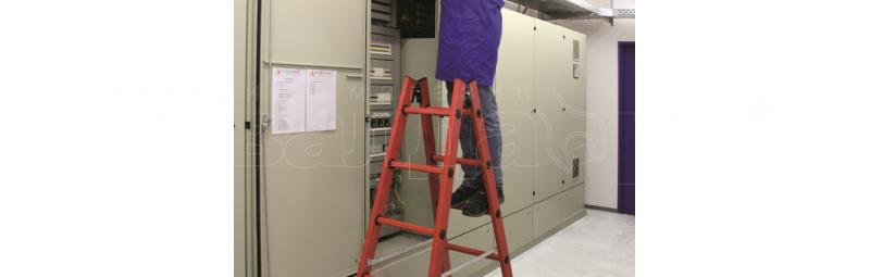 Защита от электричества – в стремянке из фибергласса