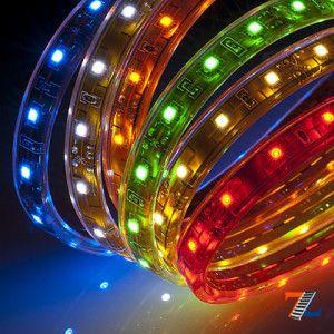 Рулоны цветной светодиодной ленты