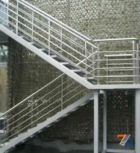 Лестница с промежуточными площадками