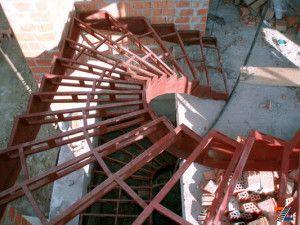 Костяк железной конструкции