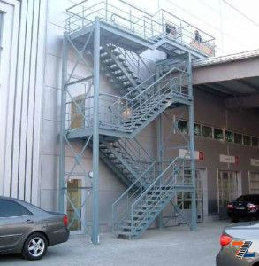 Классическое наружное сооружение
