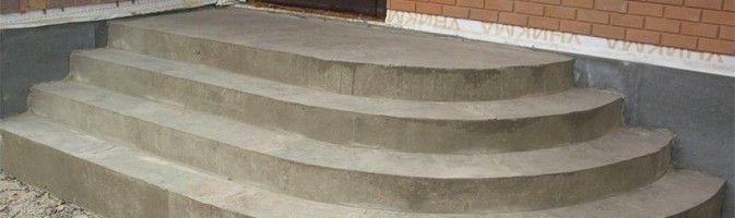 Круглые ступени