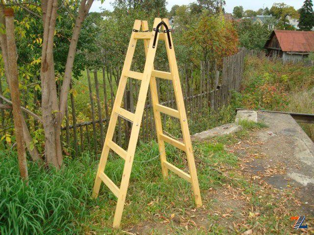 Как сделать стремянку из дерева