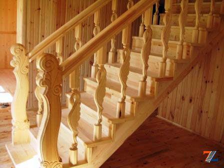 Элементы лестниц от производителя: ступени, балясины
