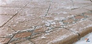 Морозоустойчивые клинкерные ступени