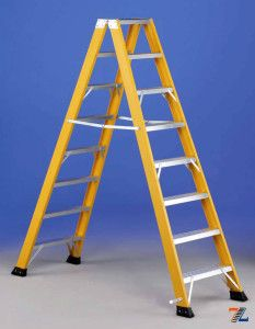 Диэлектрическая лестница-стремянка: приятная цена, высокое качество