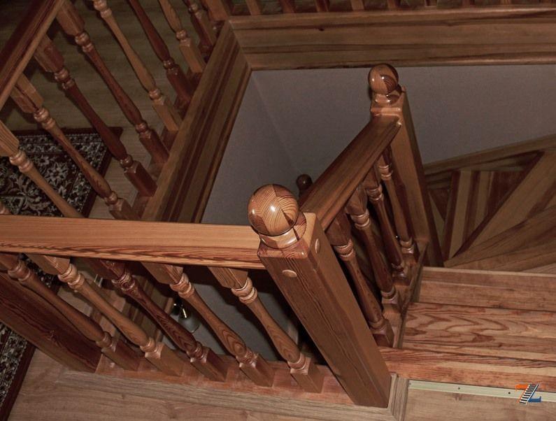 Деревянные лестницы своими руками все фото