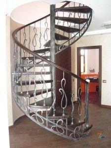 Винтовая конструкция из металла