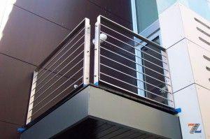 Элегантное ограждение балкона