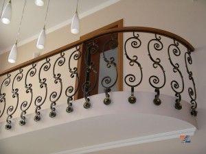 Ковка на балконном ограждениии