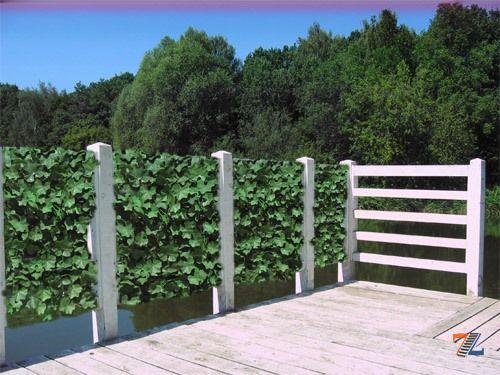 Как сделать зелёный забор 369