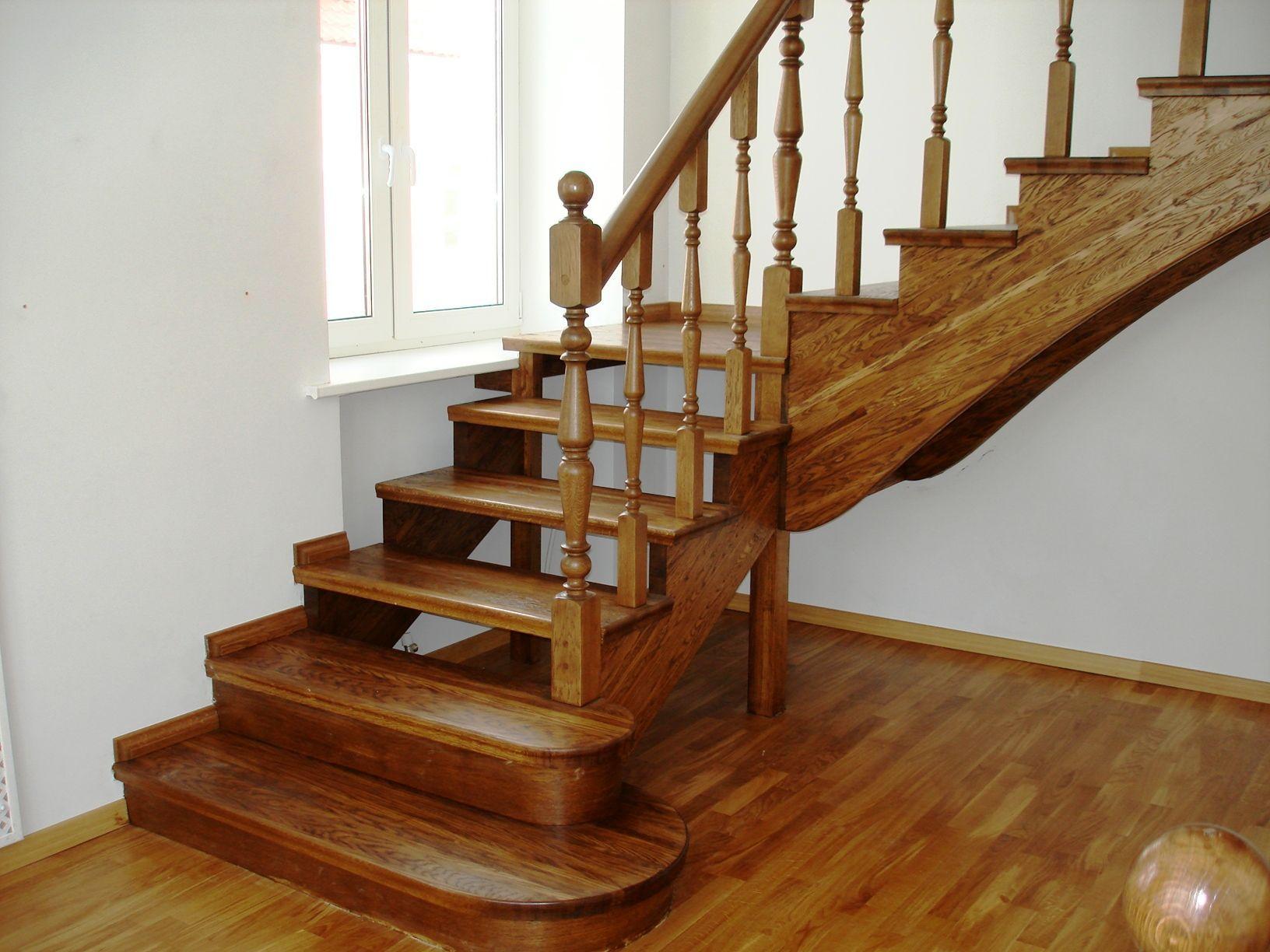 Лестница с одним маршем своими руками