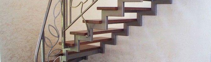 лестницы из профильной трубы чертеж