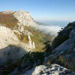 Перевал Чёртова лестница в Крыму