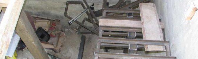Как изготовить и обшить лестницу на металлокаркасе своими руками