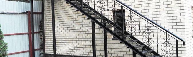 Изготовление наружных лестниц из металла