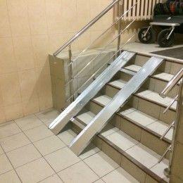 Варианты установки подъемников для инвалидных колясок