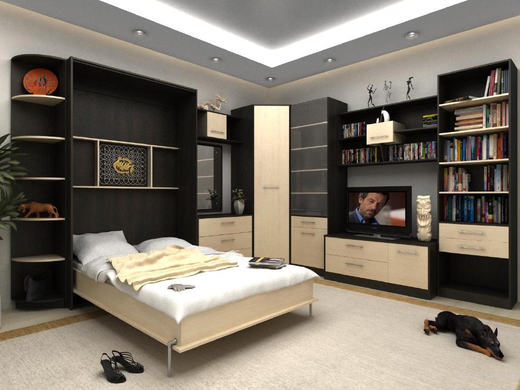 Мебель-трансформер: удобна, красива, современна