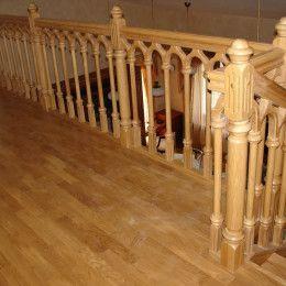 Выбираем ограждение для лестниц