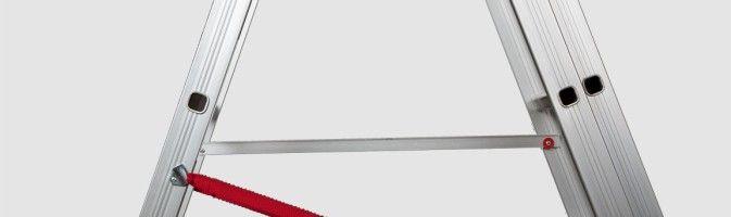 Легкие и практичные стремянки из алюминия