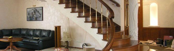 Роскошные лестницы – совершенство дуба безгранично