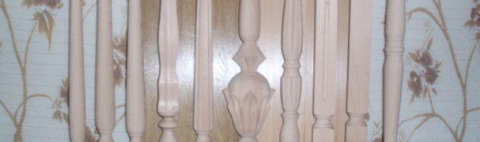 Деревянное кружево плоских балясин