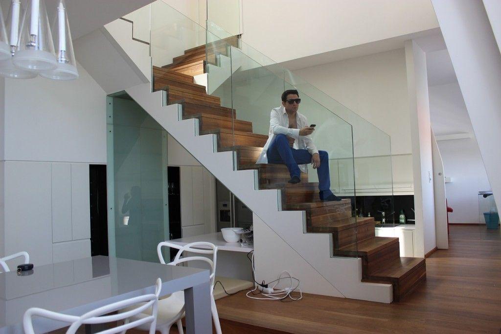 Декор лестницы: в гармонии с окружающим миром