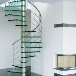 Составные части стеклянных лестниц
