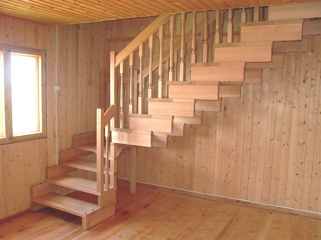 Строим лестницу на даче