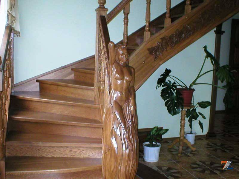 Надежные и эстетичные балясины из дерева