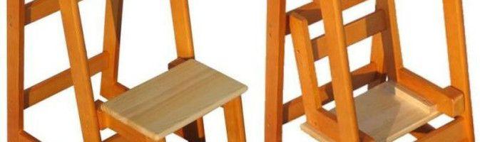 Как изготовить несложную лестницу-стремянку