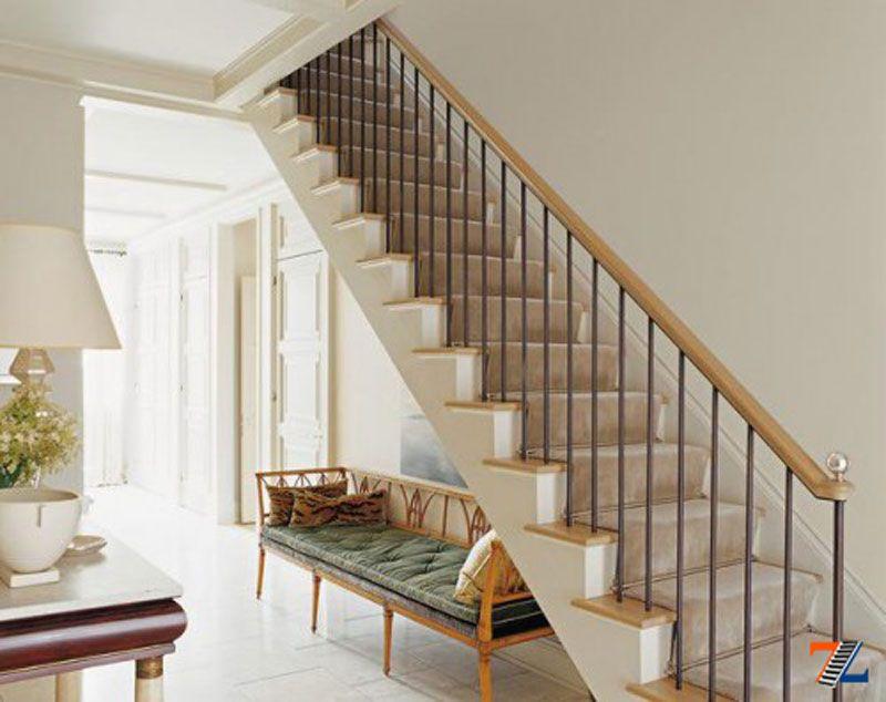 Союз дерева и металла: элегантность комбинированной лестницы