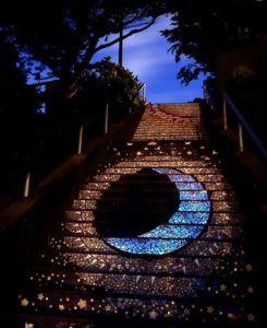 Лестница, которая ведет на луну и солнце