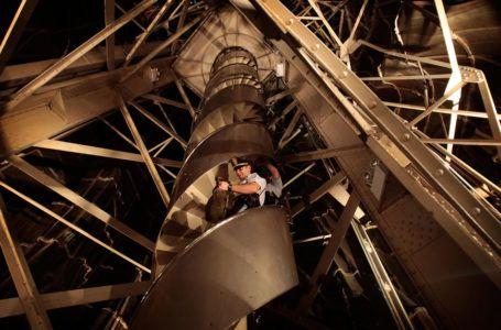 Лестница в статуе Свободы