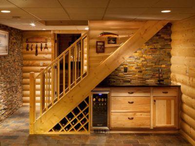 Лестница-кухня