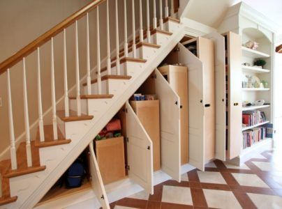 Лестница плюс шкаф