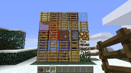 Лестницы на блоках разных типов
