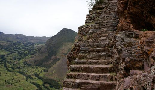 Лестница в Мачу-Пикчу