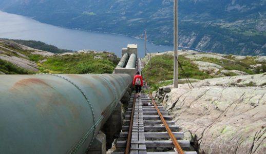 самые высокие лестницы в мире