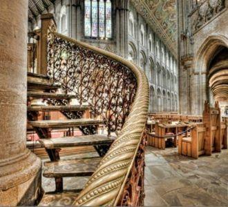 Украшение кафедрального собора Или