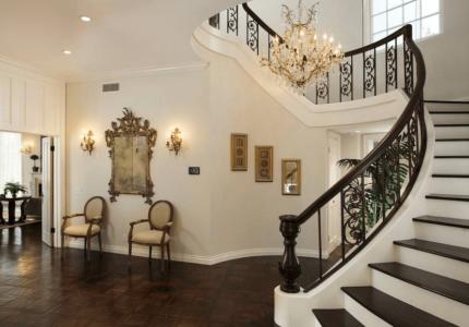 лестница в стиле барокко