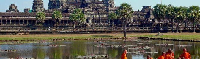 Ангкор-Ват в Камбодже