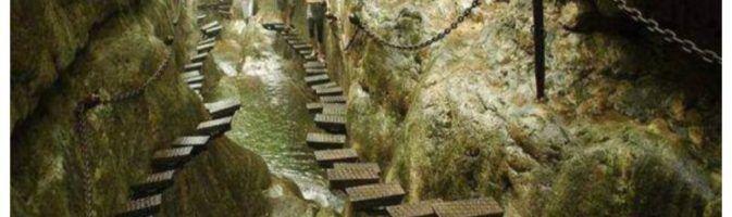 Экстремальная лестница в горах Taihang