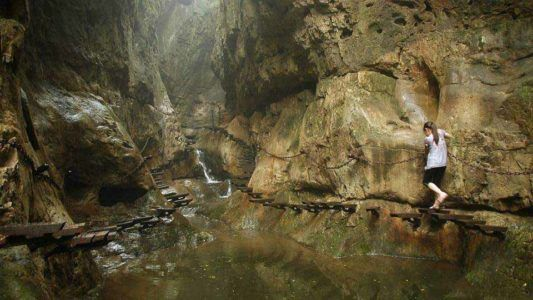 Лестница в горах Taihang