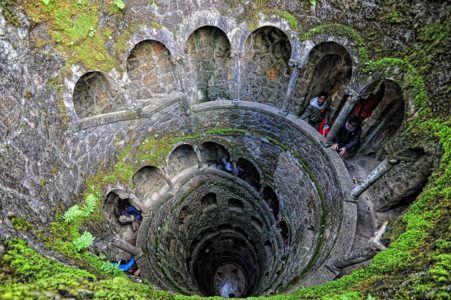 Лестница в Кинта да Регалейра