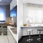 Маленькая кухня в современном стиле