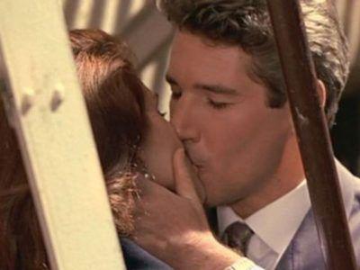 Поцелуй на пожарной лестнице