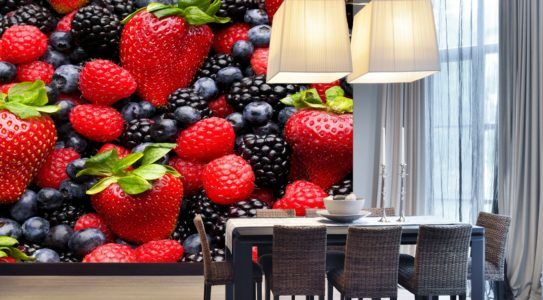 Фотообои с фруктами