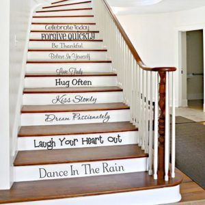 Как преобразить старую лестницу